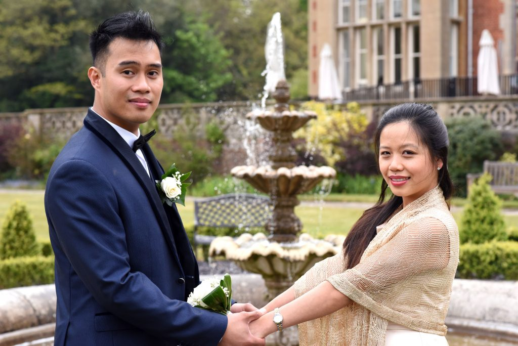 Easthampstead Park wedding
