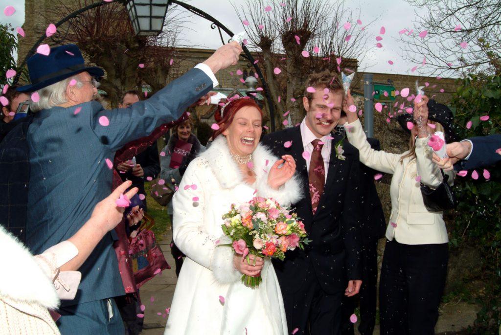st john the evangelist whitchurch wedding