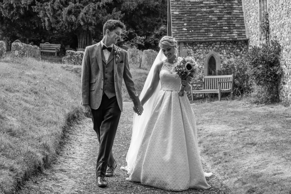 Pishill Church wedding