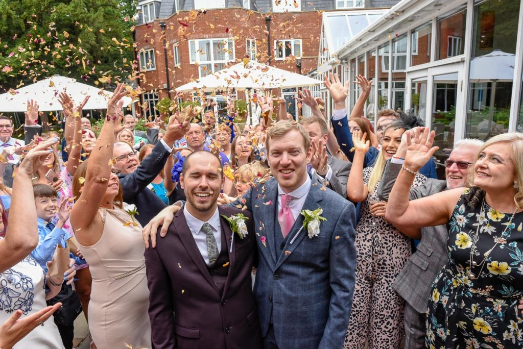 The Bull Hotel wedding
