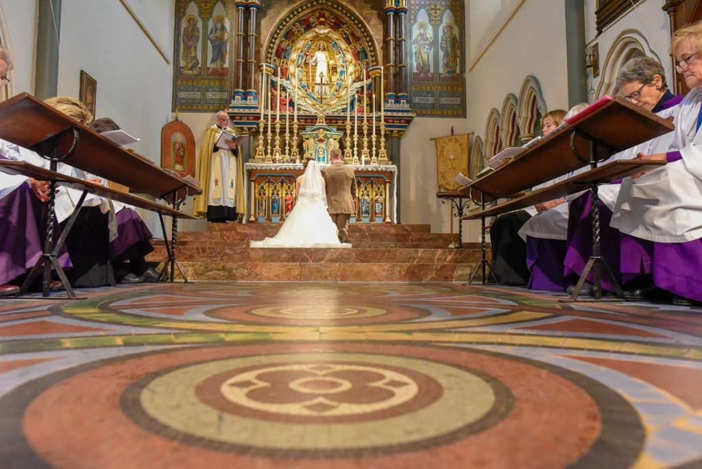 St Stephen and St Agnes church weddings