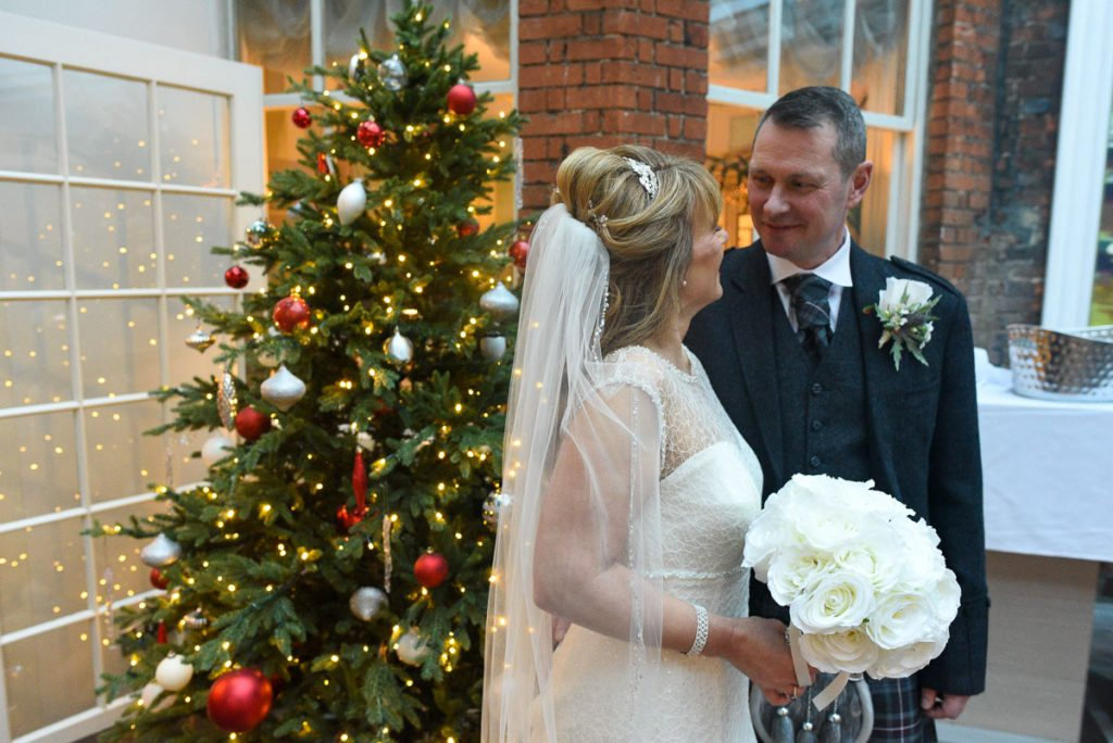 christmas weddings Sir Christopher Wren Hotel windsor